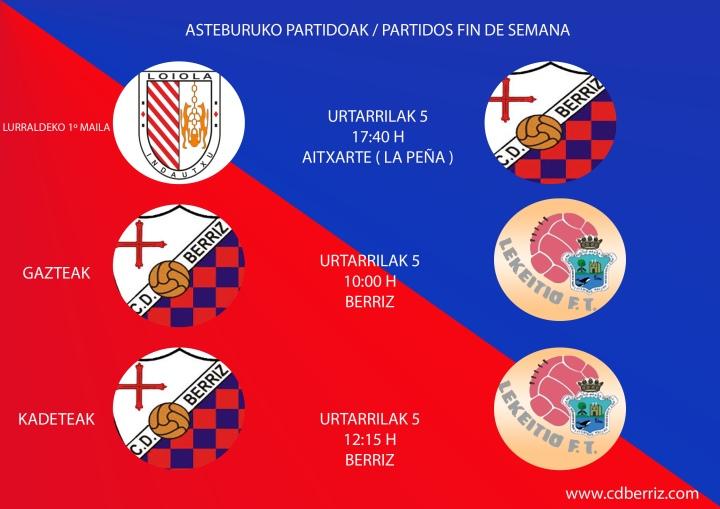 CARTELERA PARTIDOS
